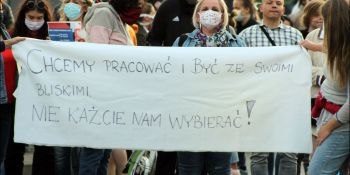 Protesty na polsko-niemieckiej granicy. Pracownicy transgraniczni domagają się otwarcia granic - zdjęcie nr 18