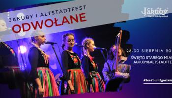 Jakuby i Altstadtfest w tym roku nie odbędą się