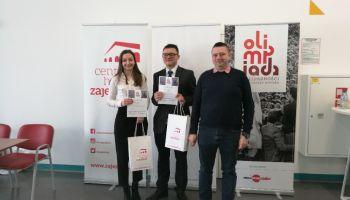 Laureaci konkursu / fot. Liceum Ogólnokształcące w Zgorzelcu