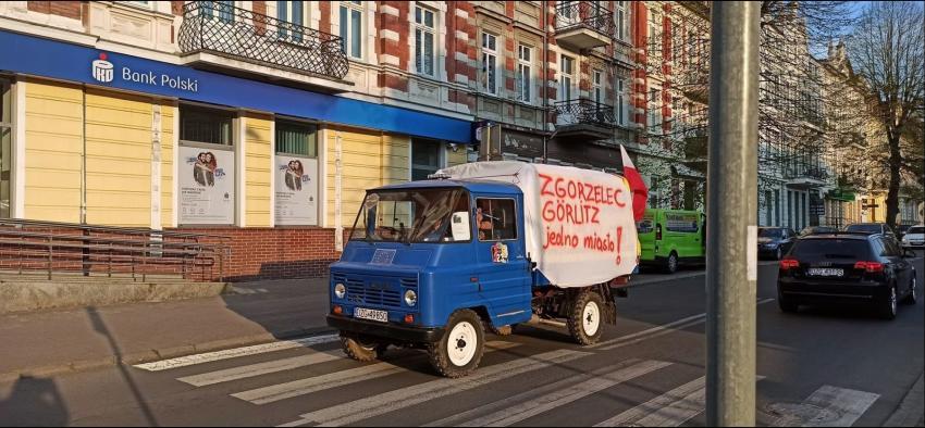 Protesty na polsko-niemieckiej granicy. Pracownicy transgraniczni domagają się otwarcia granic - zdjęcie nr 4