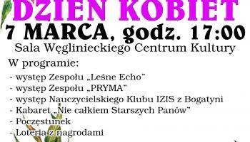 Dzień Kobiet 2020 w Węglińcu