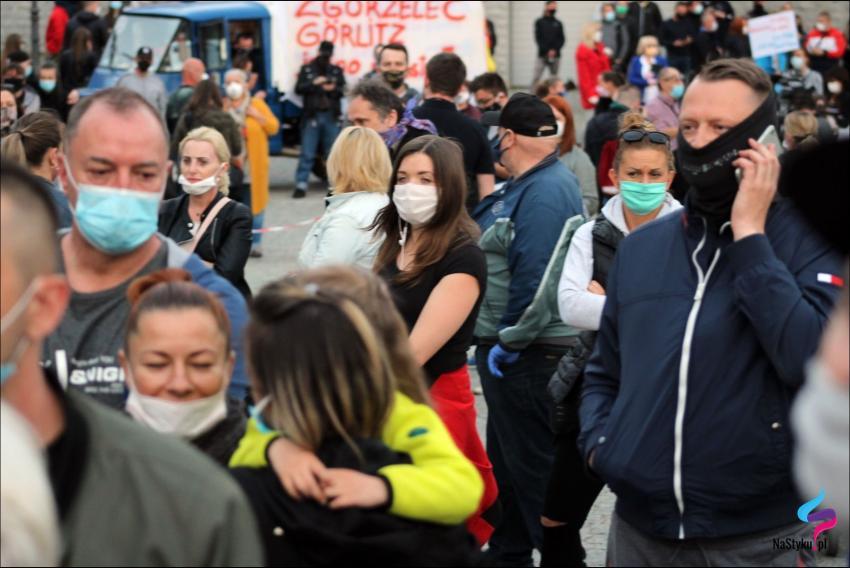 Protesty na polsko-niemieckiej granicy. Pracownicy transgraniczni domagają się otwarcia granic - zdjęcie nr 56