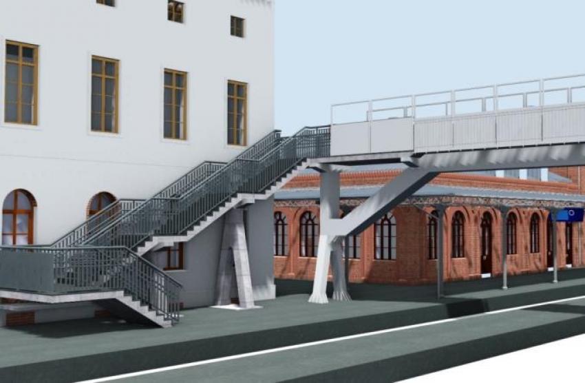 Tak będzie wyglądał dworzec kolejowy w Węglińcu po przebudowie. Zobacz wizualizację! - zdjęcie nr 7