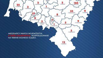 dane dla województwa dolnośląskiego oraz powiatów w związku (stan na 05.04.2020 r. godz. 19:00)