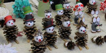 Bożonarodzeniowy Jarmark Rękodzieła w Jerzmankach - zdjęcie nr 2