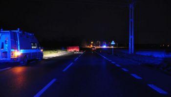 Miejsce, w którym doszło do śmiertelnego wypadku / fot. KPP Zgorzelec