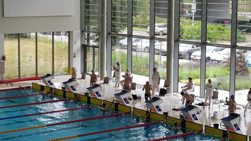 Otwarte Mistrzostwa Dolnośląskiego OZP w pływaniu / fot. UKS Energetyk Zgorzelec
