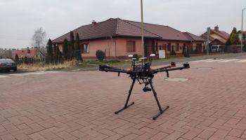 Dron / fot. UM Zawidów