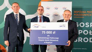 Fundacja PGE przekazała darowiznę dla Samodzielnego Publicznego Zakładu Opieki Zdrowotnej w Bogatyni
