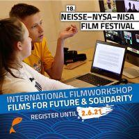 Warsztaty filmowe w ramach Nyskiego Festiwalu Filmowego 2021