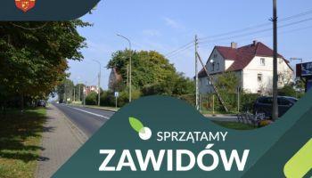 Sprzątamy Zawidów / materiały prasowe Urzędu Miejskiego w Zawidowie