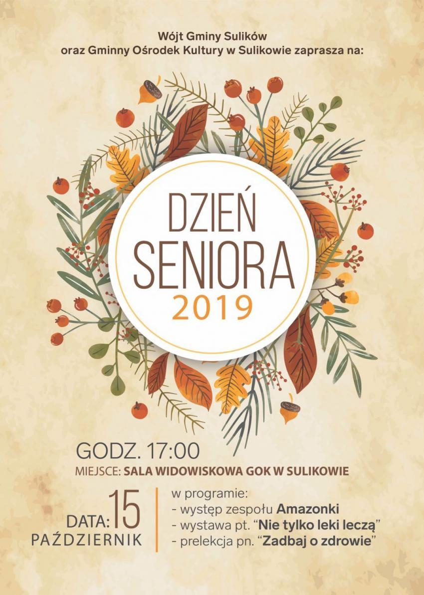 Dzień Seniora 2019 w Sulikowie