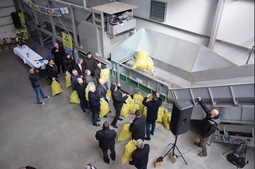 W Lubaniu otwarto nowoczesną sortownię odpadów / fot. Gmina Zgorzelec