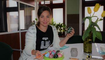 Agnieszka Siluta podczas warsztatów w EuRegioKom w Pieńsku / fot. archiwum prywatne