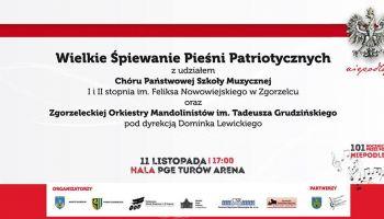 Wielkie Śpiewanie Pieśni Patriotycznych w Zgorzelcu