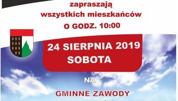 Gminne zawody sportowo-pożarnicze w Sulikowie