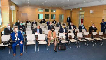 Konferencja sygnatariuszy Porozumienia Zachodniego Obszaru Integracji / fot. Urząd Miasta Bolesławiec
