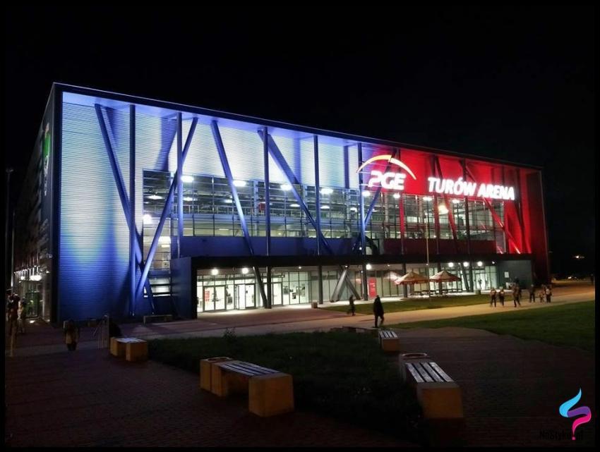Biało-czerwona PGE Turów Arena