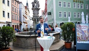 DRUGA KONFERENCJA PRASOWA ALTSTADTFEST GÖRLITZ 2019 / fot. Kulturservice Görlitz