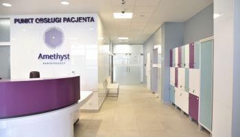 Materiały prasowe spółki RTCP zarządzającej Centrum Radioterapii Amethyst