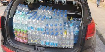 Mieszkańcy Zgorzelca pomagają! Kierowcy, którzy utknęli na autostradzie dziękują! - zdjęcie nr 10