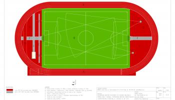 Płyta główna po modernizacji stadionu w Pieńsku