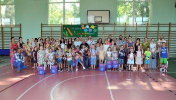 180 energetycznych tornistrów od turoszowskich oddziałów PGE GiEK / materiały prasowe PGE GiEK S.A.