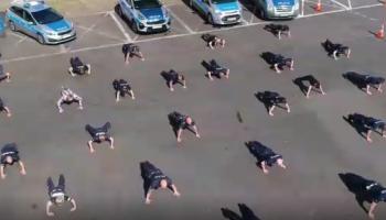 #GaszynChallenge zgorzeleckich policjantów