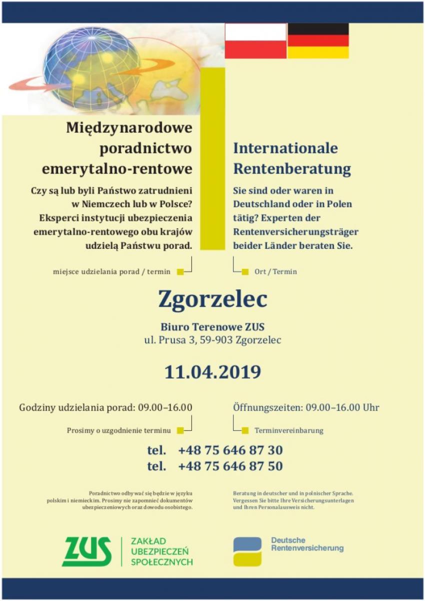 Międzynarodowy Dzień Poradnictwa w ZUS