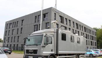 Mobilne Centrum Monitoringu (MCM) / fot. KWP Wrocław