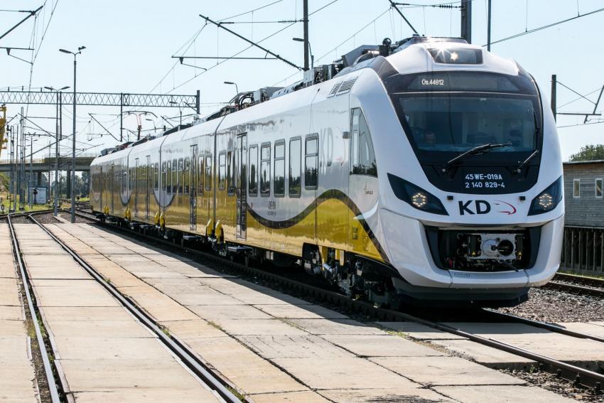 Pociąg Kolei Dolnośląskich / fot. Koleje Dolnośląskie