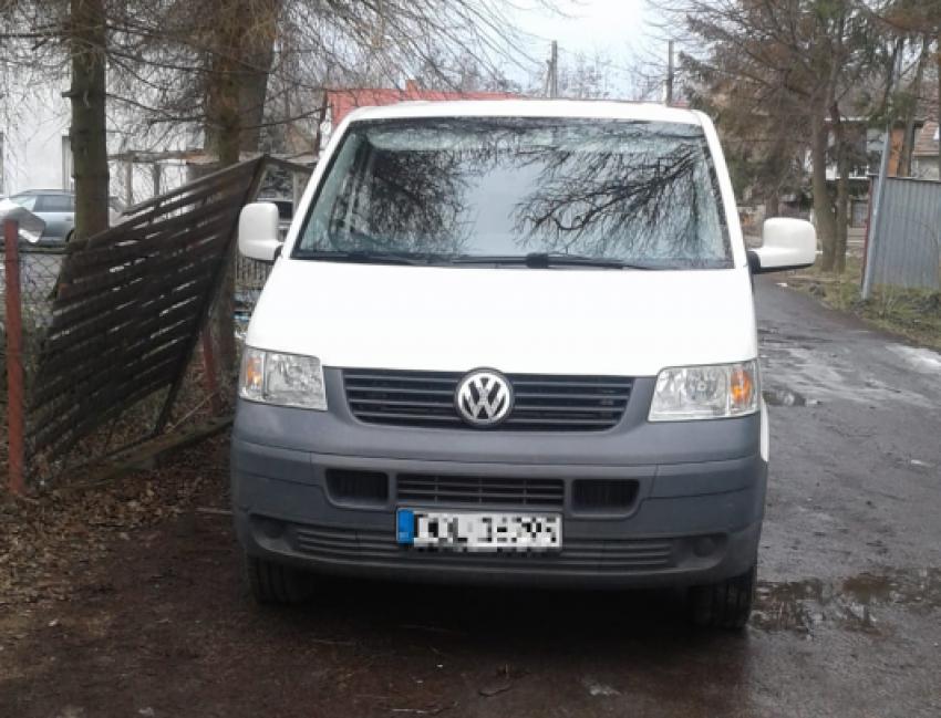 Odzyskany VW / fot. KPP Zgorzelec