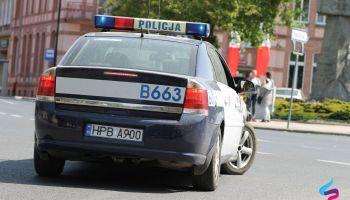 Oznakowany radiowóz policji / zdjęcie ilustracyjne