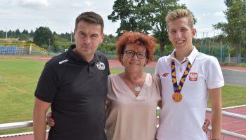 Od lewej: Łukasz Kubala, Dorota Baranowska, Wiktor Gruzd