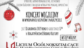 Koncert Wigilijny w Bogatyni