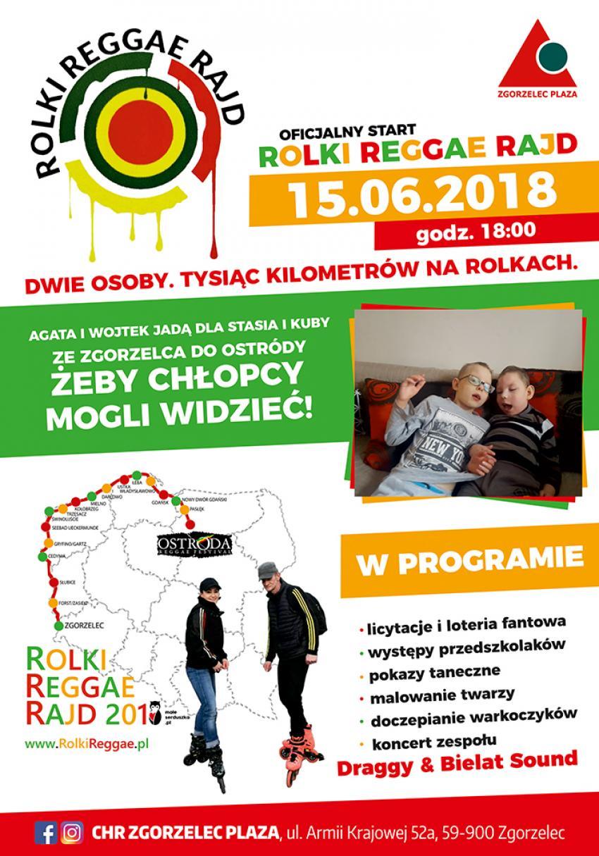 Oficjalny start Rolki Reggae Rajd 2018