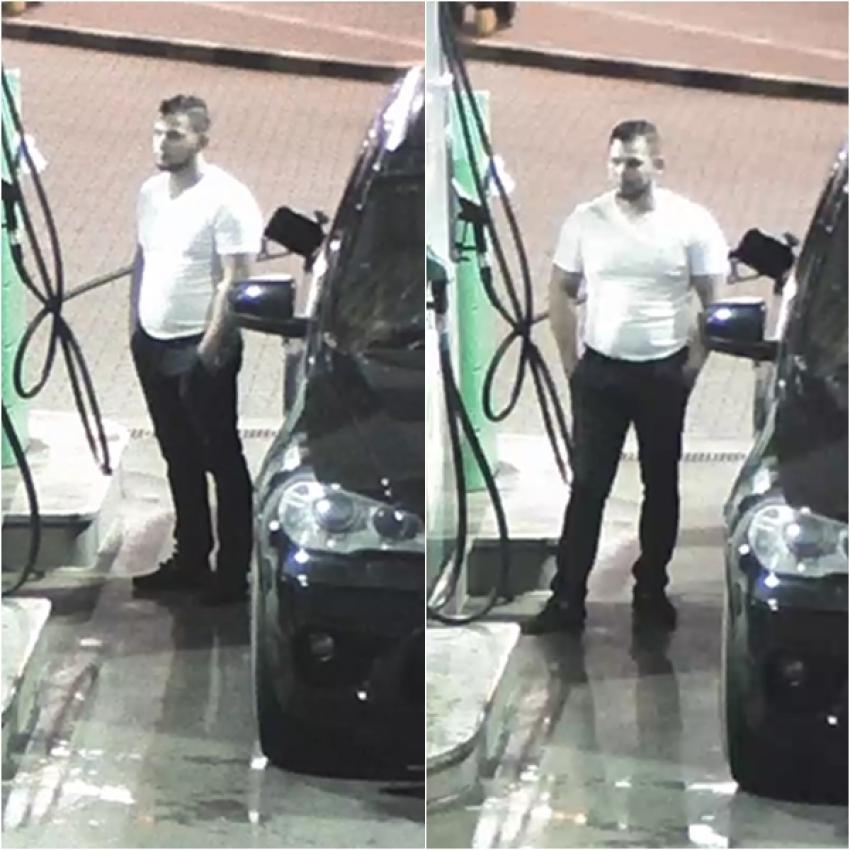 Mężczyzna podejrzany o kradzież paliwa / fot. KPP Zgorzelec