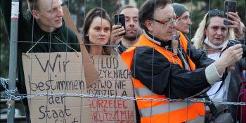 Protesty na polsko-niemieckiej granicy. Pracownicy transgraniczni domagają się otwarcia granic - zdjęcie nr 42