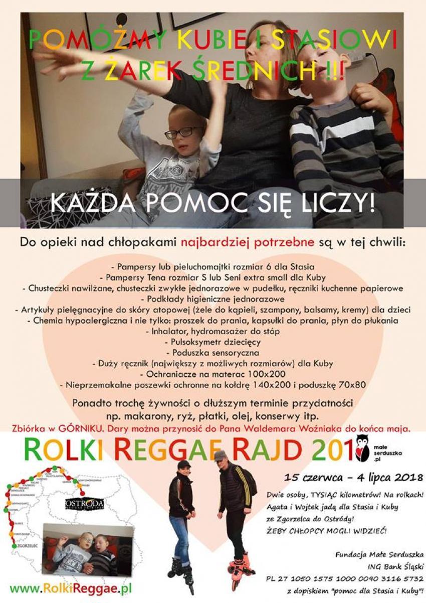 Plakat ZSZiL w Zgorzelcu.