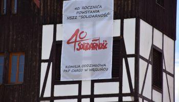 """40. rocznica powstania NSZZ """"Solidarność"""" / fot. Starostwo Powiatowe w Zgorzelcu"""