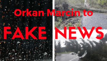Orkan Marcin to fake news
