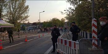 Protesty na polsko-niemieckiej granicy. Pracownicy transgraniczni domagają się otwarcia granic - zdjęcie nr 1