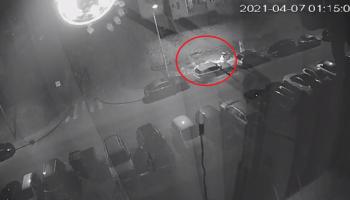 Policja poszukuje sprawcy podpalenia BMW w Zgorzelcu