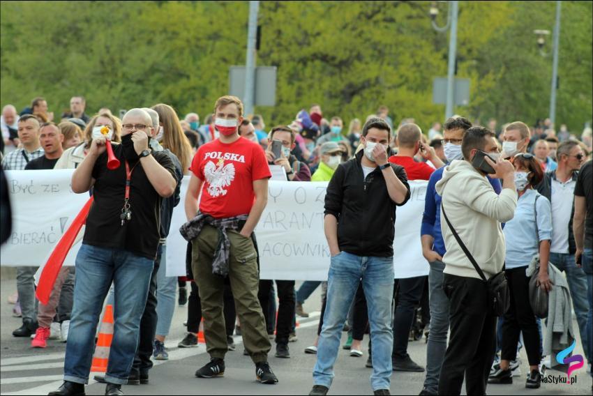 Protesty na polsko-niemieckiej granicy. Pracownicy transgraniczni domagają się otwarcia granic - zdjęcie nr 21