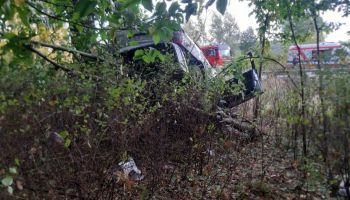 37-latka straciła panowanie nad pojazdem