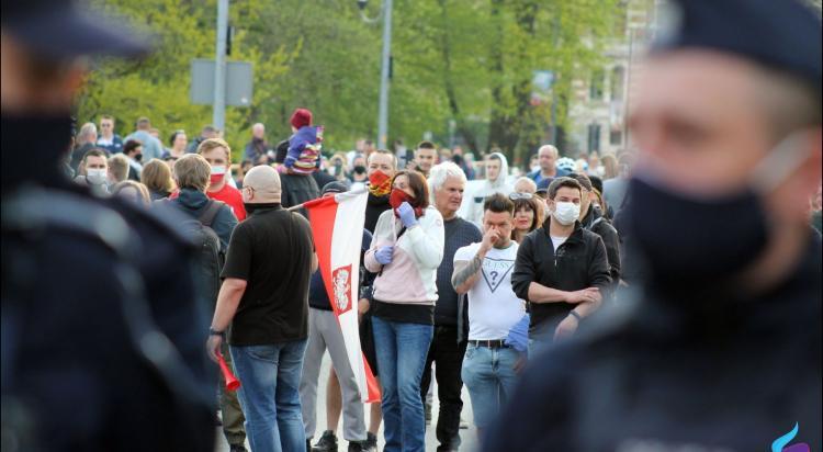 Protesty na polsko-niemieckiej granicy. Pracownicy transgraniczni domagają się otwarcia granic - zdjęcie nr 13