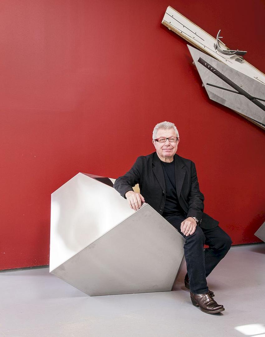 Architekt Daniel Libeskind (fot.: Stefan Ruiz)