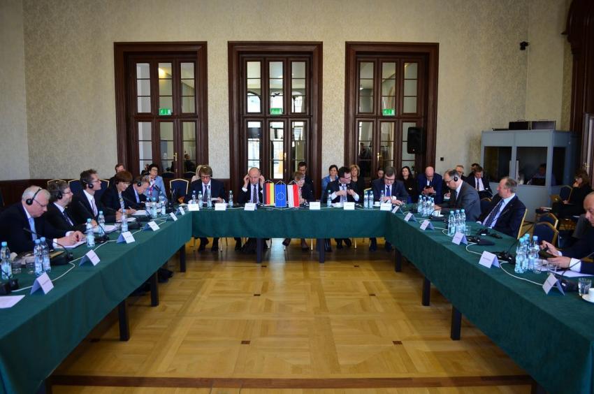 4. Polsko-Niemiecki Szczyt Kolejowy odbył się 8 maja 2019 r. we Wrocławiu / materiały prasowe PKP PLK S.A.