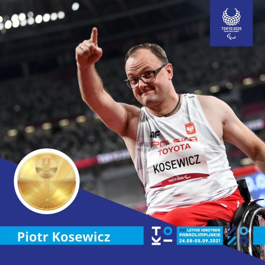 Piotr Kosewicz / fot. Bartłomiej Zborowski / Polski Komitet Paraolimpijski