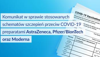 Komunikat w sprawie uznania szczepień przeciwko COVID-19 wykonanych poza granicami RP